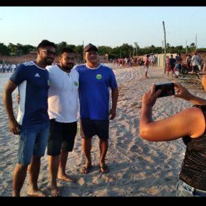 Gilvan Cabral participa de final de Campeonato de futebol em Barreirinhas