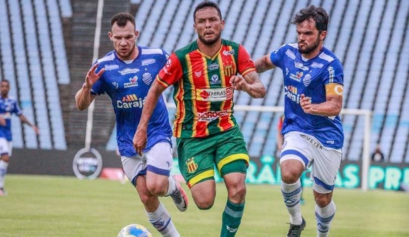 Sampaio Corrêa empata com o CSA no Castelão e garante vaga nas quartas de final da Copa do Nordeste