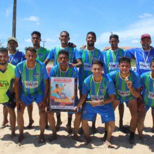 Seleção de Viana conquista o Maranhense de Beach Soccer 2021 Equipe vianense superou Santo Amaro nos pênaltis
