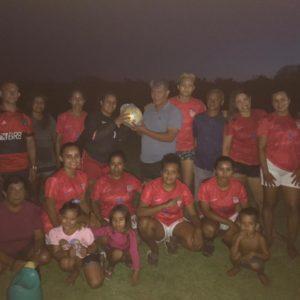 Honorino das Estradas participa de final de campeonato e visita comunidades