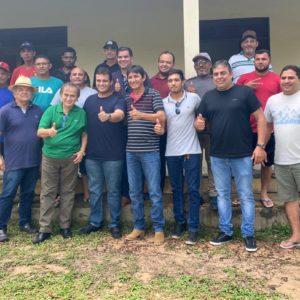 O Empresário Júnior de Raquima faz alianças importantes para o bem da cidade de Matinha